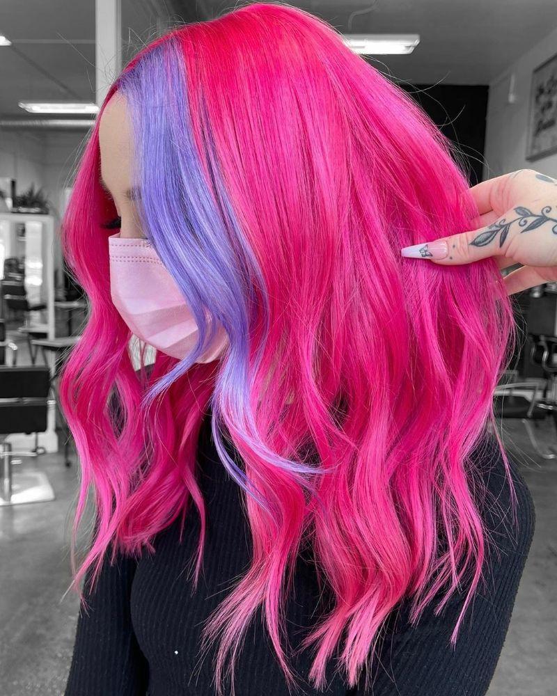 Colored Bangs