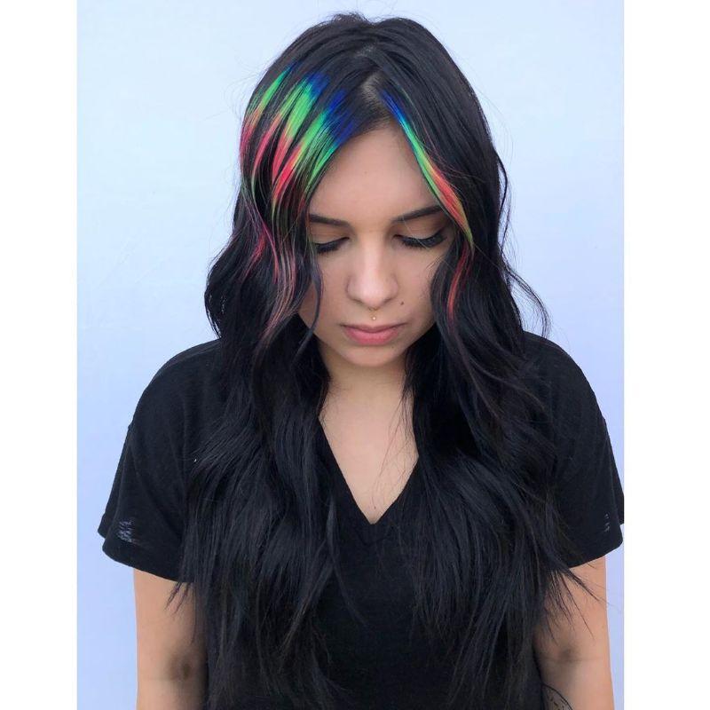 Dyed Fringe