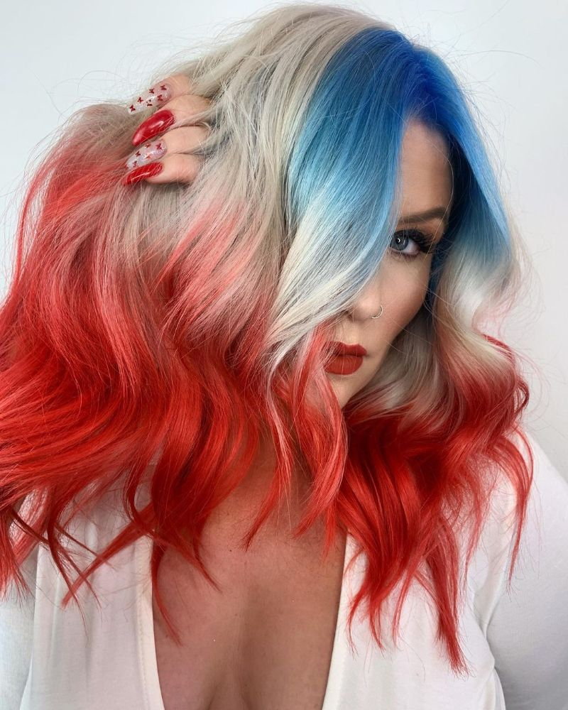 Colored Fringe