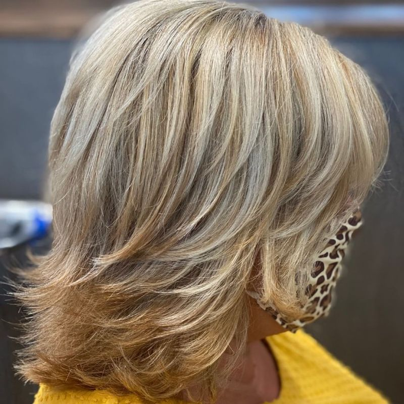 Short Very Layered Haircut aka The Rachel