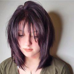 Shaggy Chopped Rachel Haircut