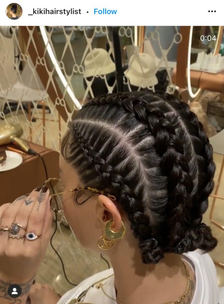 Stitch Braids for a White Girl