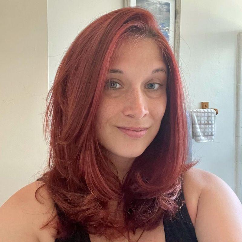 The Rachel Haircut on Medium Hair
