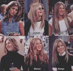 Different Rachel from Friends Haircuts