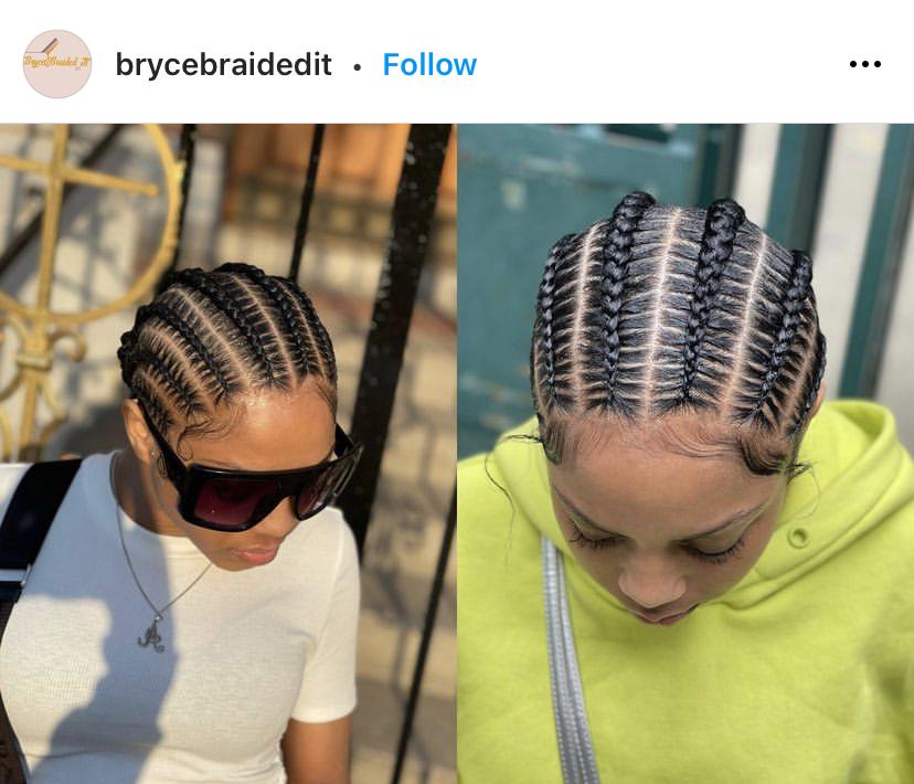 4 and 6 Stitch Braids Comparison