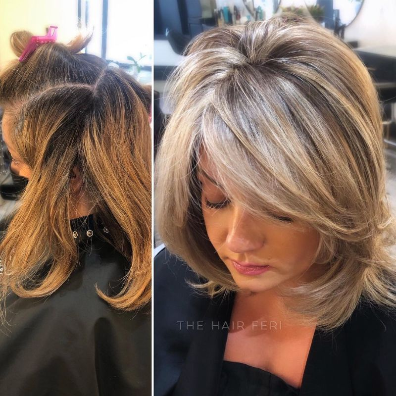 Rachel Hairstyle with Bangs