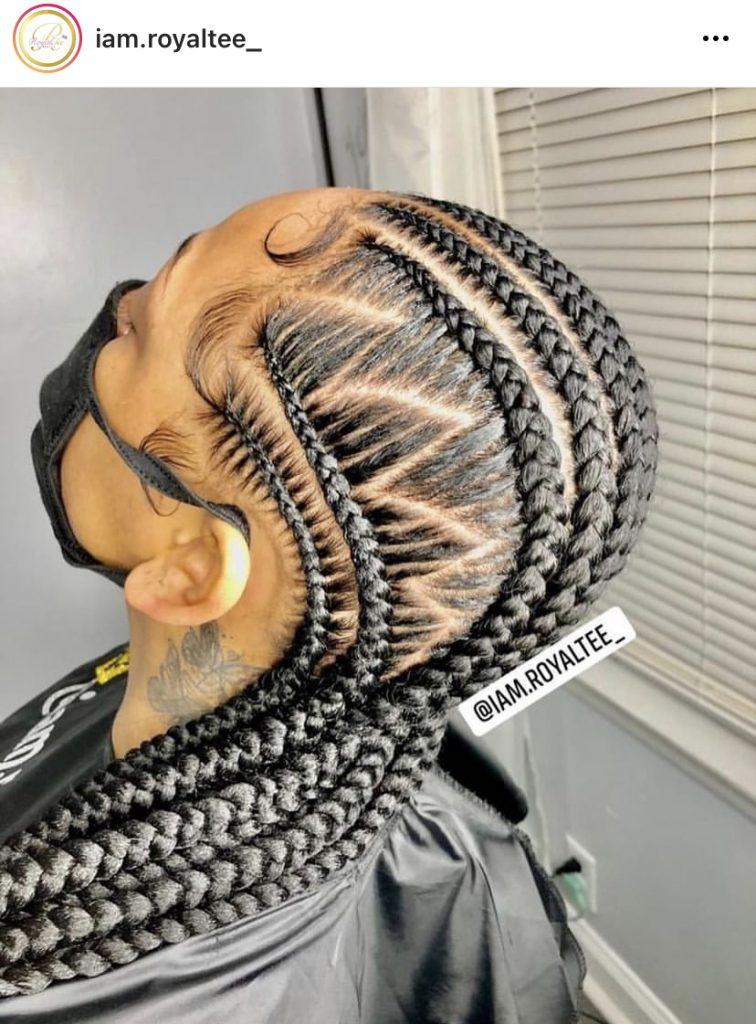 Stitch Braids for Females