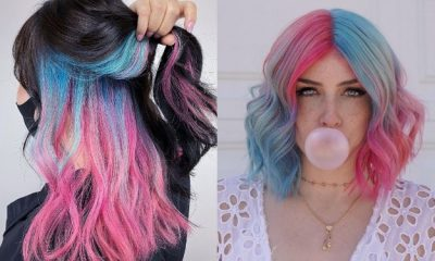 30 Blue and Pink Hair Ideas for 2021
