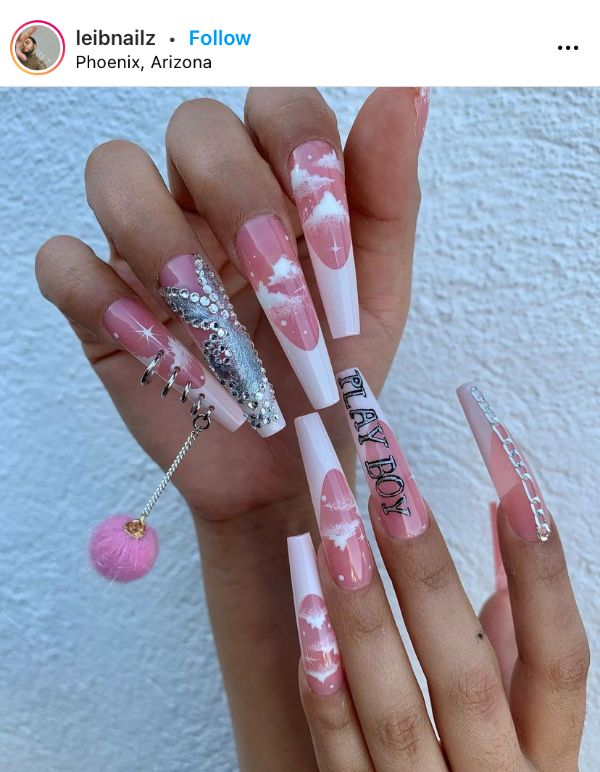 Nail Art with Piercing