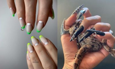 30 Best Photos of Pierced Nails and Ideas How to Do Them