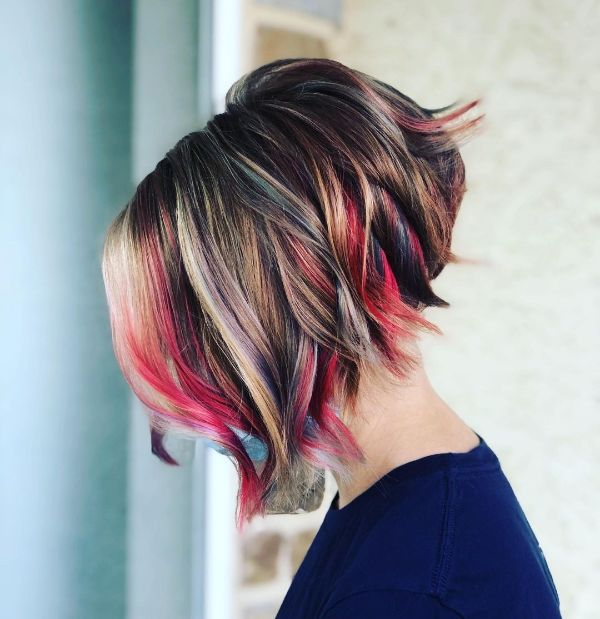 4th of July Hairstyle Bob