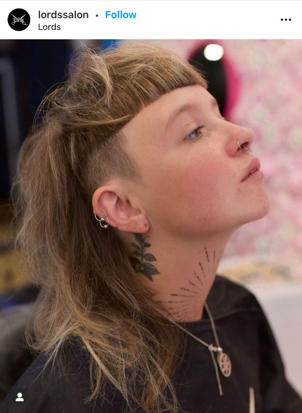 Mullet Shag Hairstyle