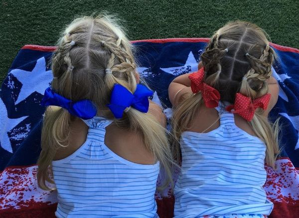 4th of July Hair for Kids