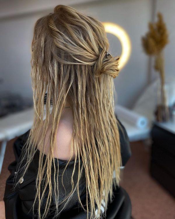 Blonde Hair Fake Eco Dreads