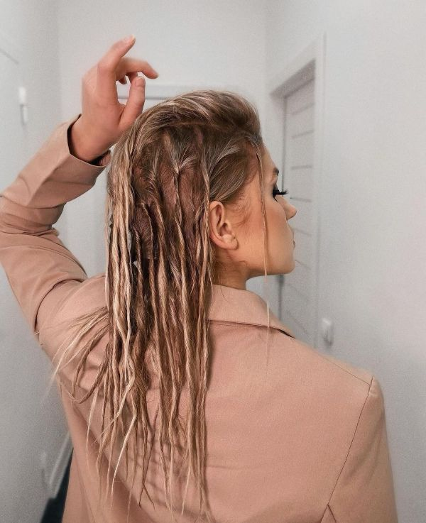 Eco Dreads for Formal Occasions