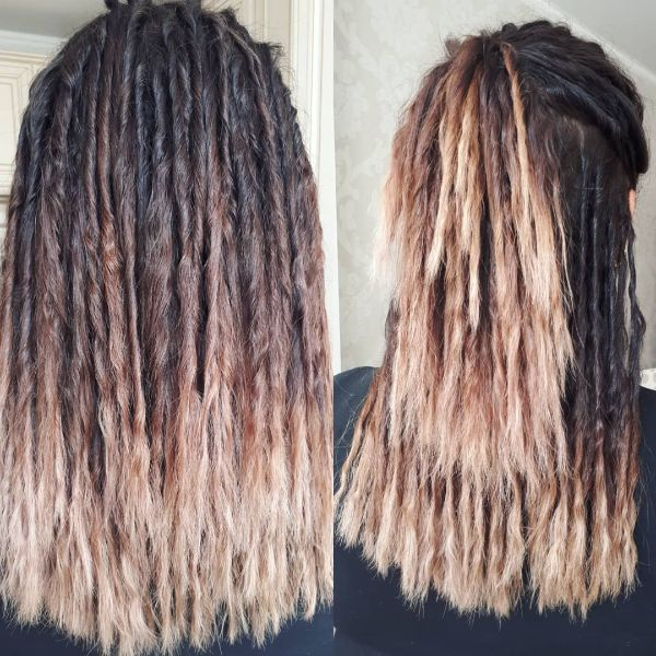 Eco Dreads with Ombre Effect